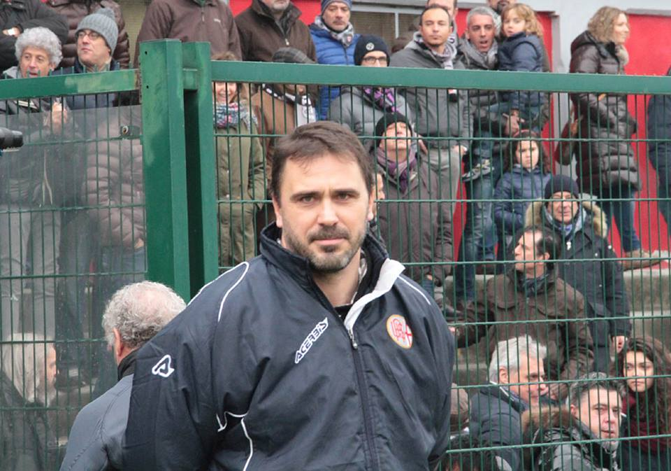 Alessandria - Real Vicenza 2-0 - 02-02-014 - Mister D'Angelo