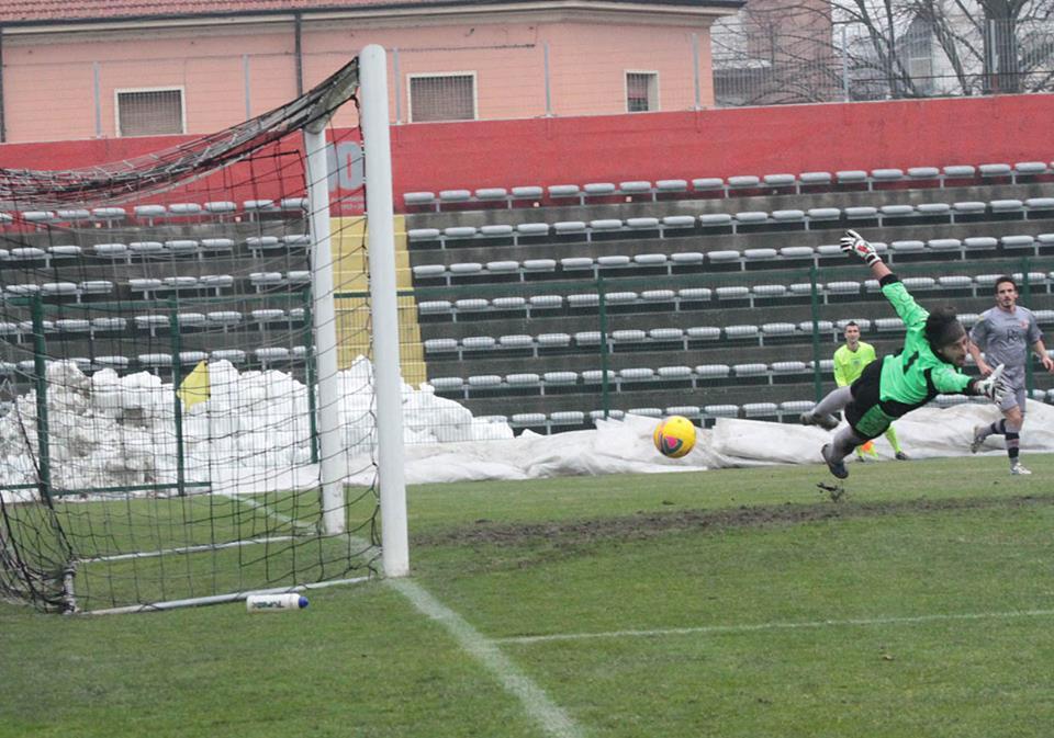 Alessandria - Real Vicenza 2-0 - 02-02-014 - gol di Cavalli - 2