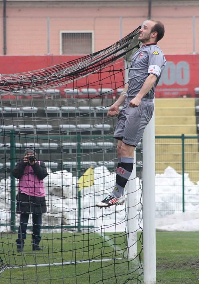 Alessandria - Real Vicenza 2-0 - 02-02-014 - gol di Cavalli - 3