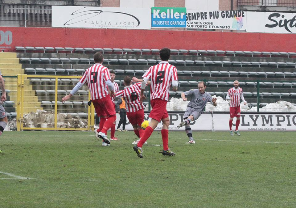 Alessandria - Real Vicenza 2-0 - 02-02-014 - gol di Cavalli