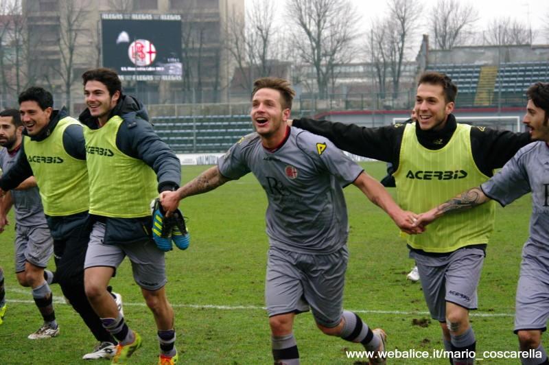 Alessandria - Real Vicenza 2-0 - 02-02-014. (2)