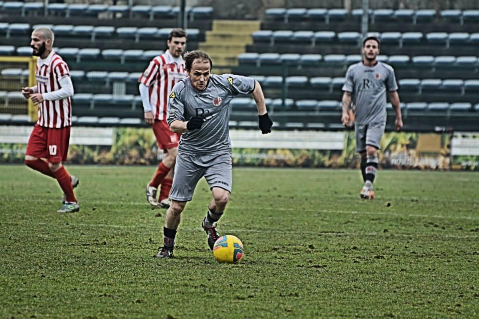 Alessandria - Real Vicenza 2-0 - 02-02-014. Davide Baiocco