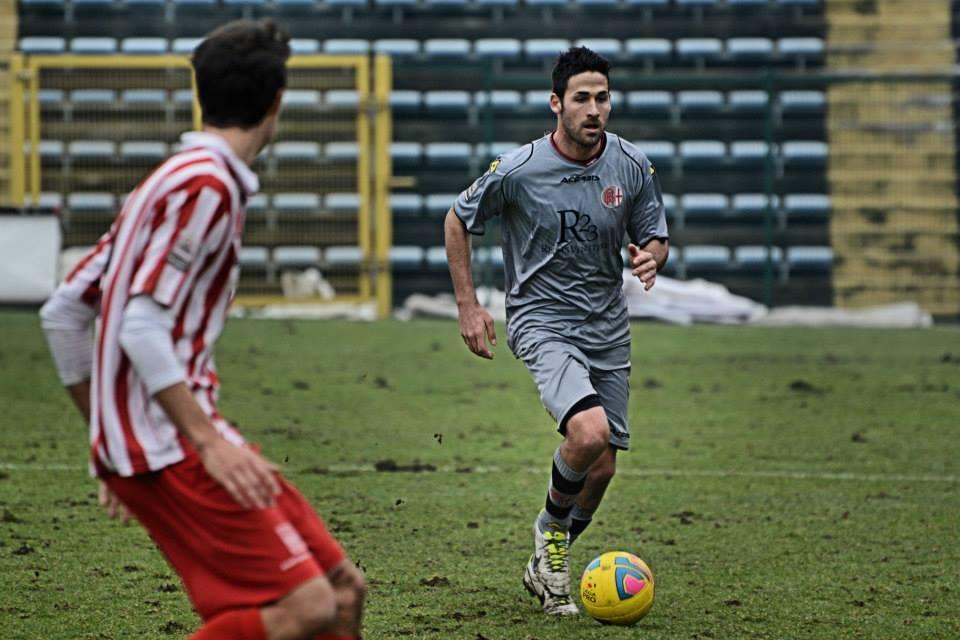 Alessandria - Real Vicenza 2-0 - 02-02-014. Michele Valentini