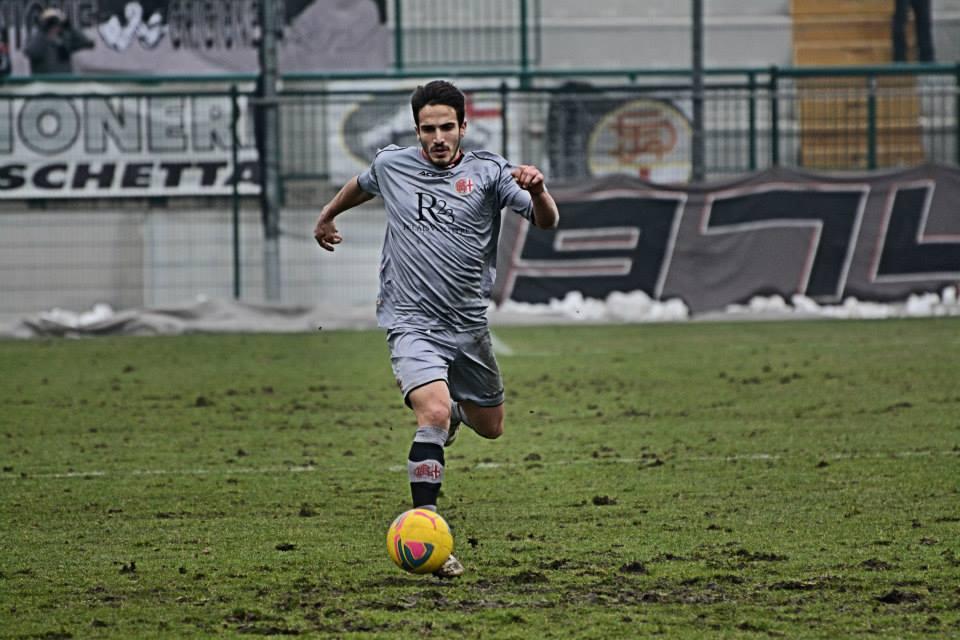 Alessandria - Real Vicenza 2-0 - 02-02-014. Mirko Spighi