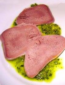 Lingua in salsa verde (Bagnetto)