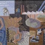 Palazzo delle Poste in Piazza della Libertà – Mosaico di Gino Severini
