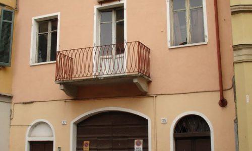 Casa natale del Poeta alessandrino Gianni Regalzi.