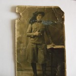 Gianni Regalzi – Questo e mio Papà classe 1910, durante il servizio di leva nel 1930 a Firenze.
