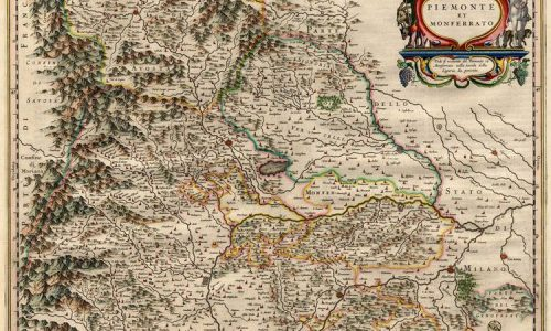 Antica stampa del Piemonte e del Monferrato