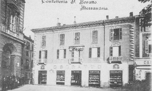Alessandria – Confetteria D. Boratto – Piazza della Libertà