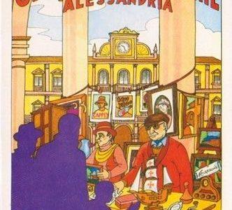Mercatino dell'Antiquariato – Officine delle Memorie – Alessandria – Sotto i portici di Piazza Garibaldi e Giardini Pubblici