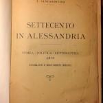 Settecento in Alessandria di T. Santagostino