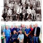 """Andavano al """"Fermi"""" nel 1965: sono tornati nella vecchia aula."""