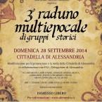29/09/2014 – 3° Raduno Multiepocale di gruppi storici
