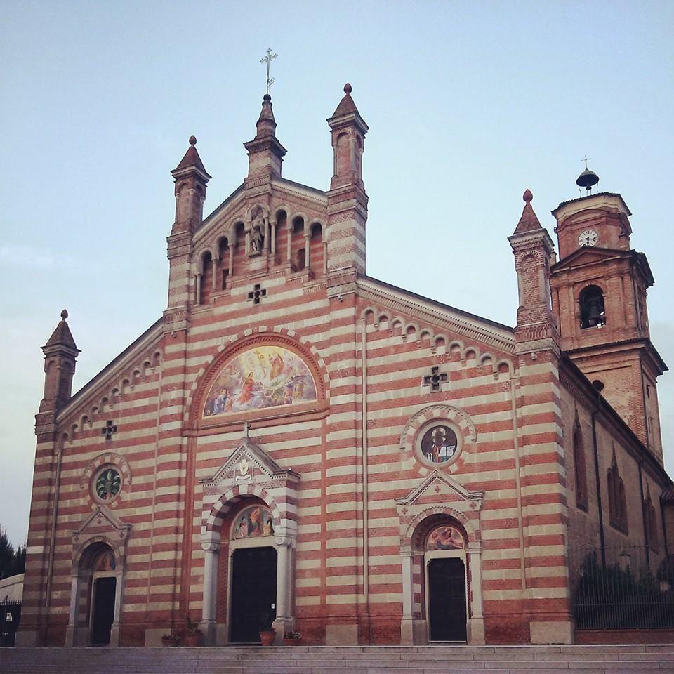 La Cattedrale di Quargnento è quella che più di tutti somiglia alla cattedrale medievale di Alessandria demolita da Napoleone.
