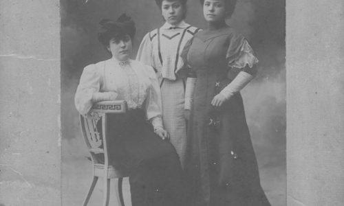 Paolo Pochettino: Le sorelle di mio nonno Vincenzo Pochettino nel 1907