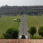 La Cittadella vista dalla terrazza Belvedere nella palazzina del Governatore.