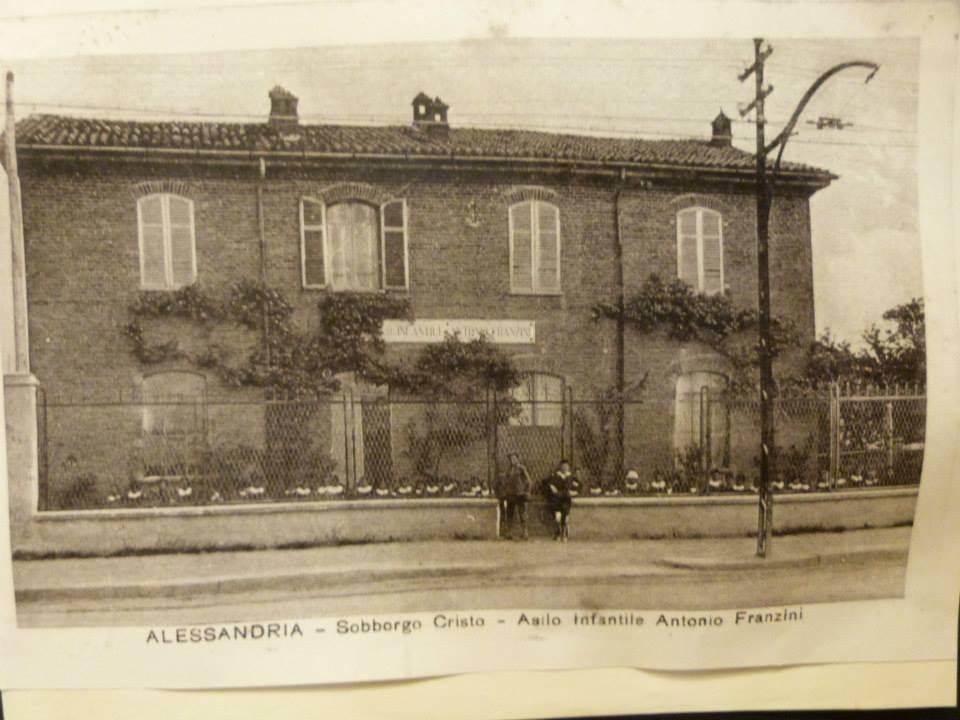 Alessandria - Sobborgo Cristo - Asilo Infantile Antonio Franzini