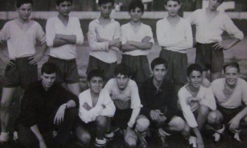 AURORA CALCIO CAMPIONATO GIOVANISSIMI ANNO 1965 1966