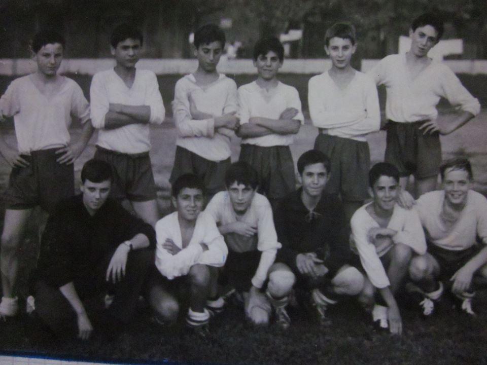 AURORA CALCIO CAMPIONATO GIOVANISSIMI ANNO 1965 1966 CAMUSSI, JERACI, MONACO, TIRALONGO, CAPRA, ARZANI, ALL. PISANO, MENIN, VELOCE, MILAN, GAZZANI, ZAINO