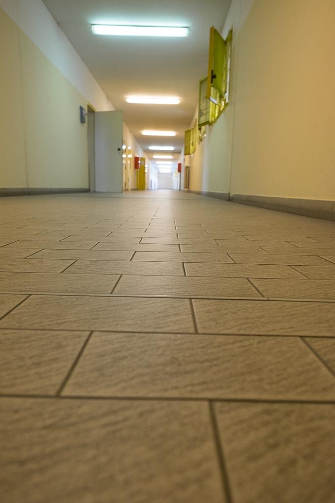 Siamo ai corridori che ospitano le celle
