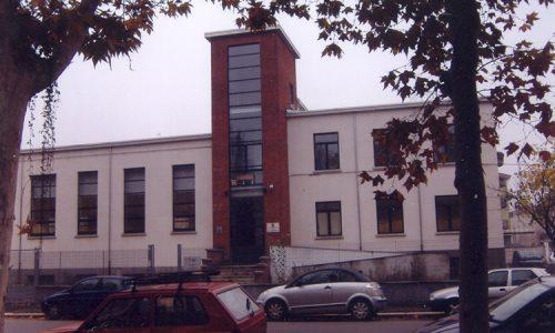 Casa della G.I.L. – sede e palestra, ora utilizzata come sede degli Uffici Doganali.