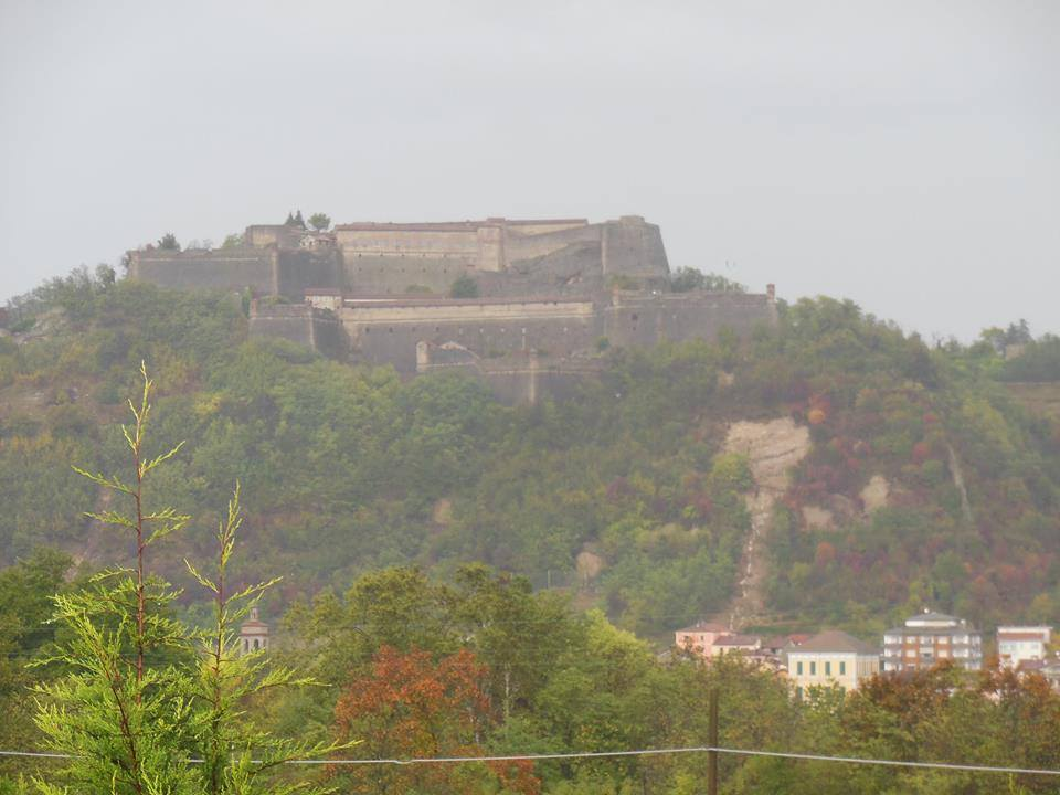 Gavi, frana sotto il Forte