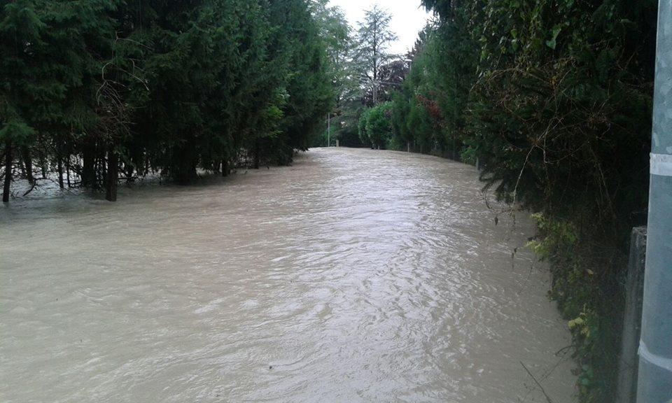 La strada verso Cassano Spinola