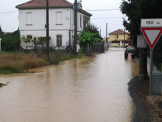 Litta Parodi,Via Frugarolo invasa dal rio Lovassina