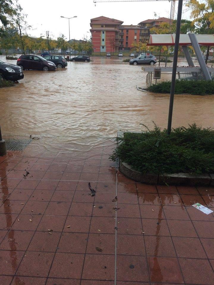 Novi Ligure - parcheggio Bennet