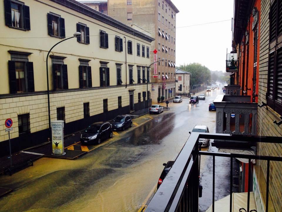 Novi Ligure via Raggio fronte ospedale