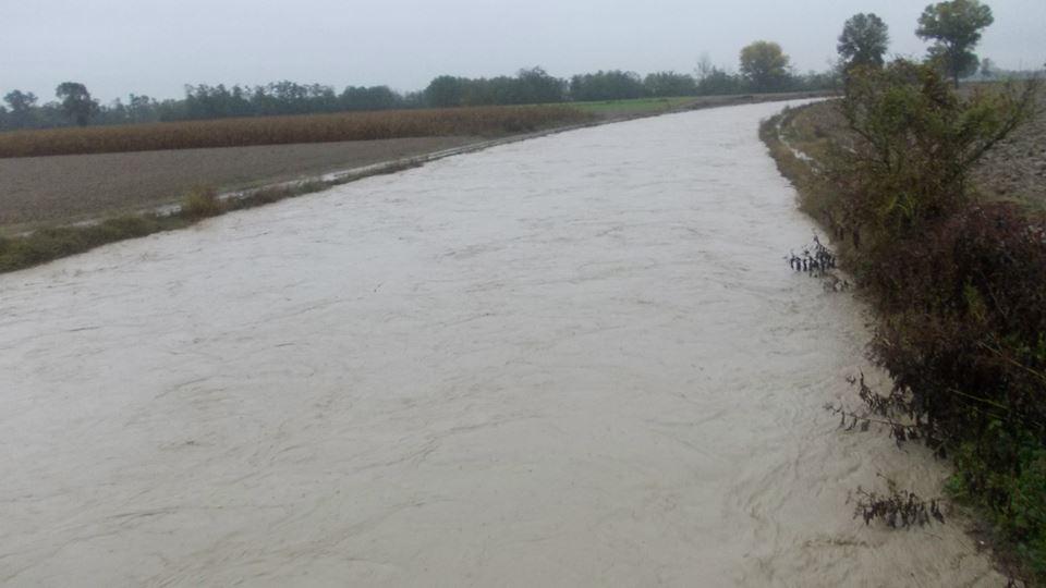 Scolmatore del torrente Grue vicino a Castelnuovo Scrivia