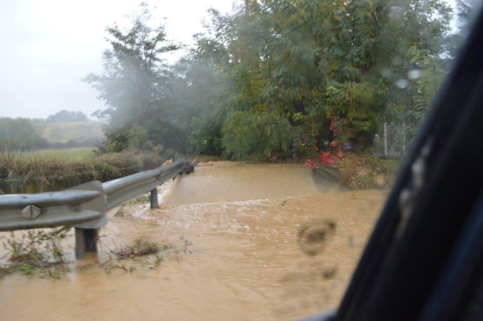 Strada statale tra Villalvernia e Tortona