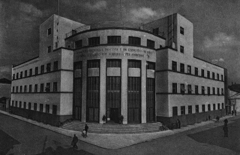 Palazzo Littorio - ora sede della Agenzia delle Entrate - Piazza Turati