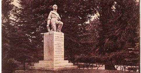 Monumento ad Andrea Vochieri - Giardini Pubblici