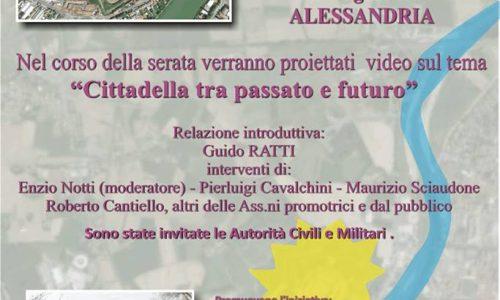 Cittadella di Alessandria, prima e dopo l'alluvione. Idee per il futuro.
