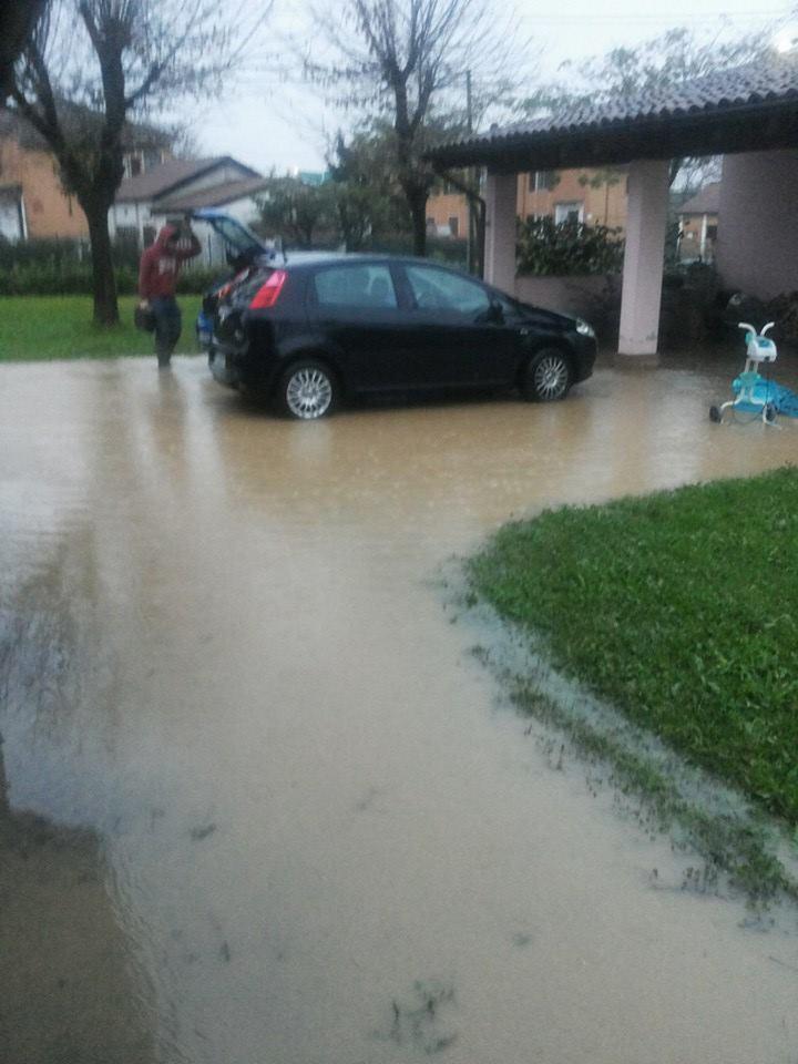 Esondazione Rio Loreto a San Michele