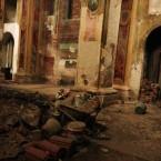 Interno di una chiesa sconsacrata di VIA GHILINI.