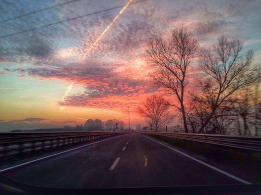 Tramonto su Alessandria - 2014