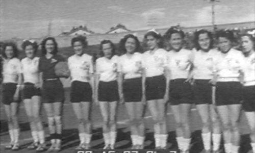 1948-49 Una squadra di calcio femminile targata Borsalino