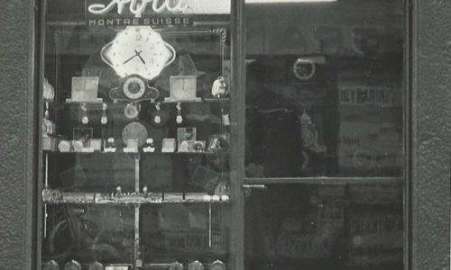 Vecchi negozi – Gioielleria Visconti – Via Vochieri