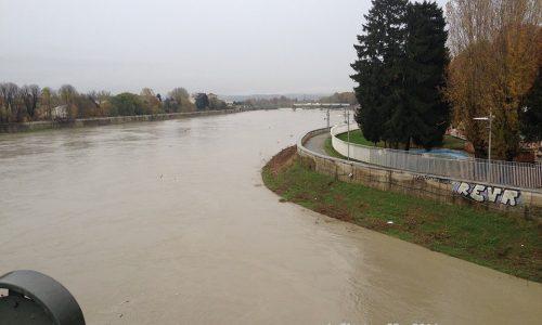 12 Novembre 2014 – Piena del fiume Tanaro e esondazione della Bormida