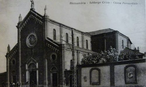 Alessandria – Sobborgo Cristo – Chiesa S. Giovanni Evangelista