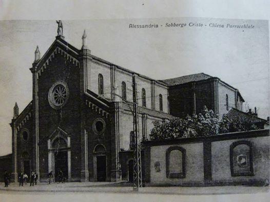 Alessandria - Sobborgo Cristo - Chiesa S. Giovanni Evangelista