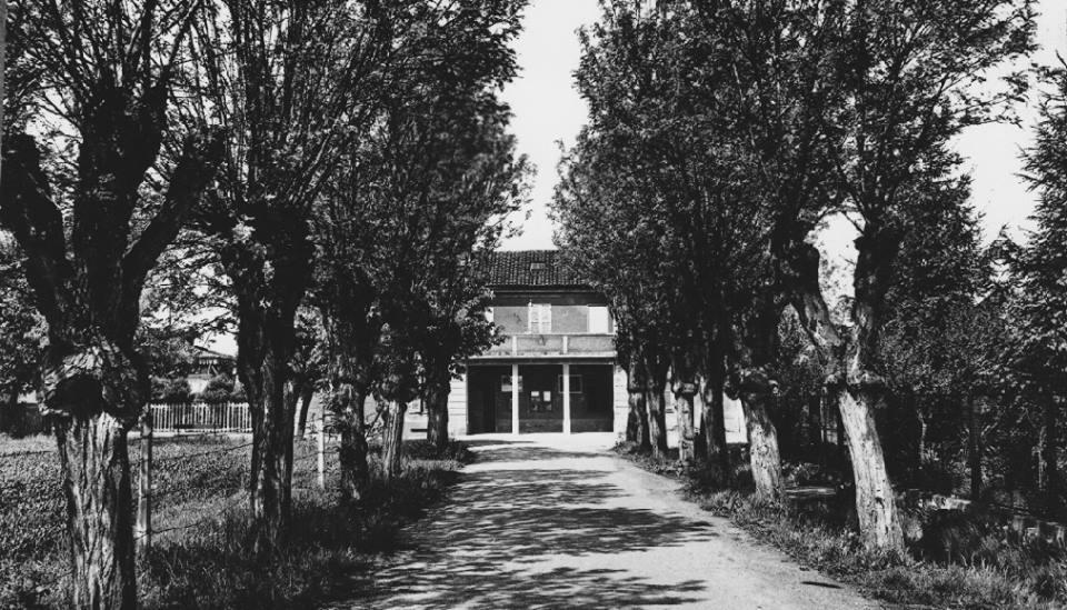 Stazione di Cantalupo anni 50.