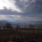Panorama delle colline del Monferrato.