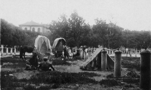 Rom d'antan (1926) in riva al Tanaro