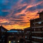Tramonto su Alessandria – Dicembre 014