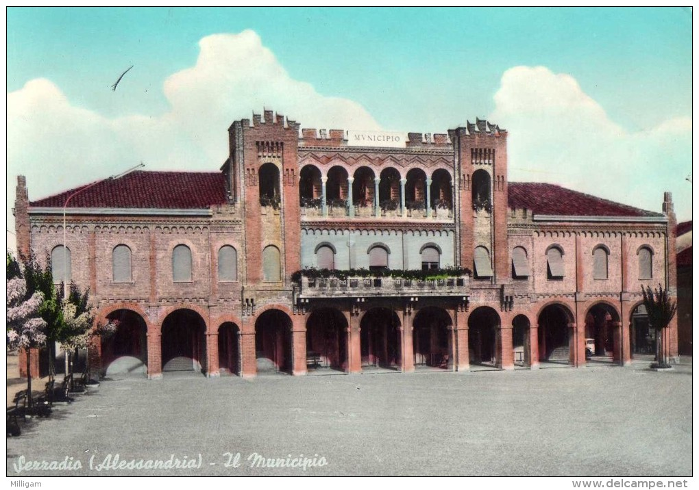 Alessandria - Sezzadio - Il Municipio