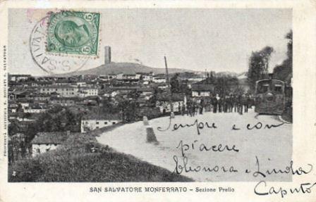 San Salvatore - Tram a vapore